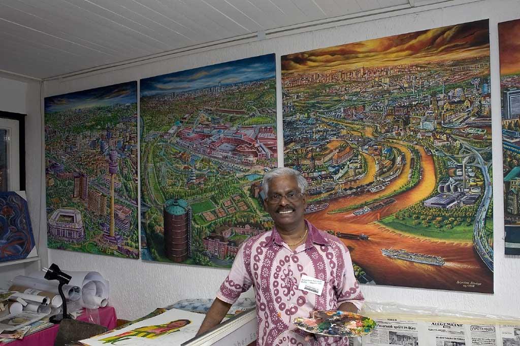 Atelierfoto von 2007