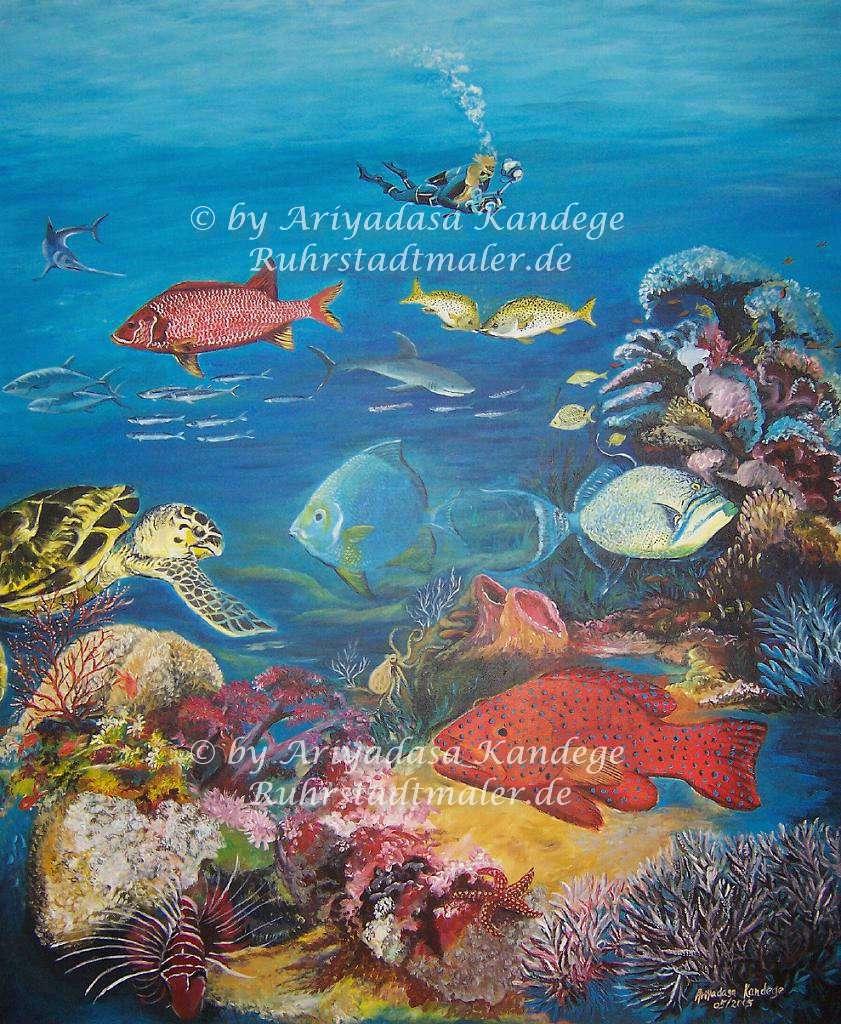 In den Tiefen des Meeres