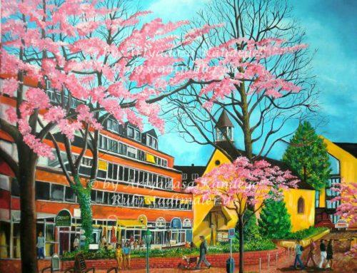 Kirschblüte in Essen-Rüttenscheid