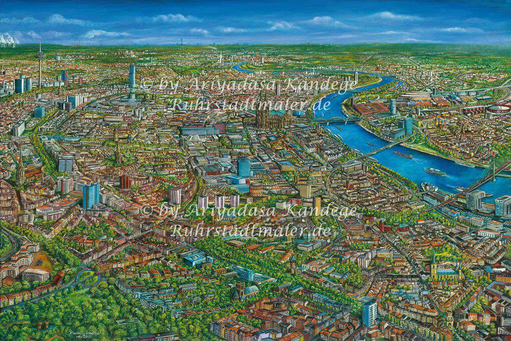 Rheinische Metropole KÖLN