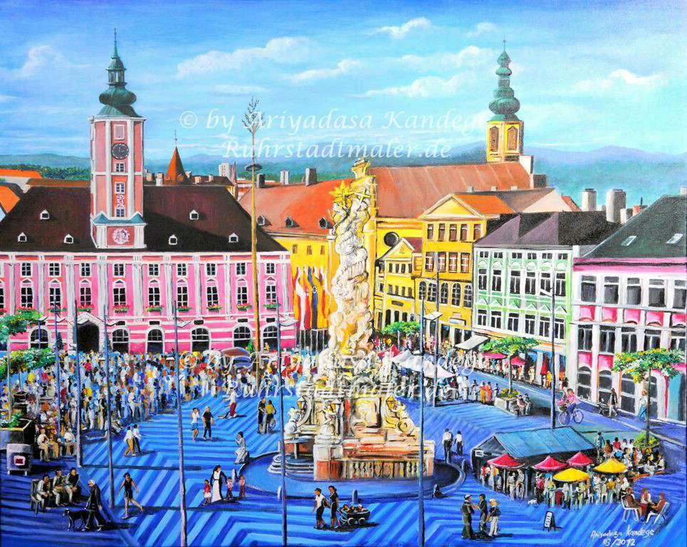 Landeshauptstadt St. Pölten in Niederösterreich